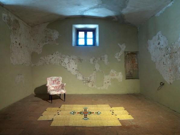 Vincenzo Marsiglia. Dopo Logica/o, veduta dell'allestimento, Palazzo Ducale, Sabbioneta (MN) Foto Dario Lasagni, New York