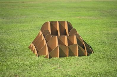 """Terra!"" | cardboard mounted frame"