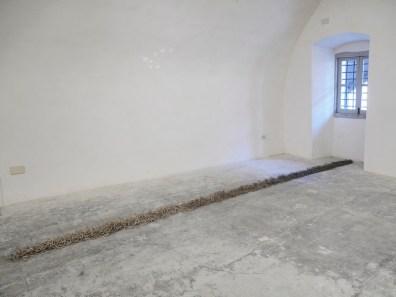 In principio è la Terra, veduta della mostra (Cesare Galluzzo), Forte di Gavi (AL), Gavi Foto di Andrea Repetto