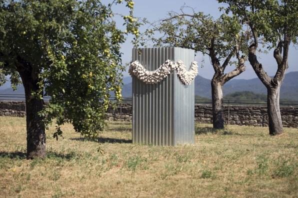 In principio è la Terra, veduta della mostra (Alberto Gianfreda), Forte di Gavi, Gavi (AL) Foto di Enrico Minasso