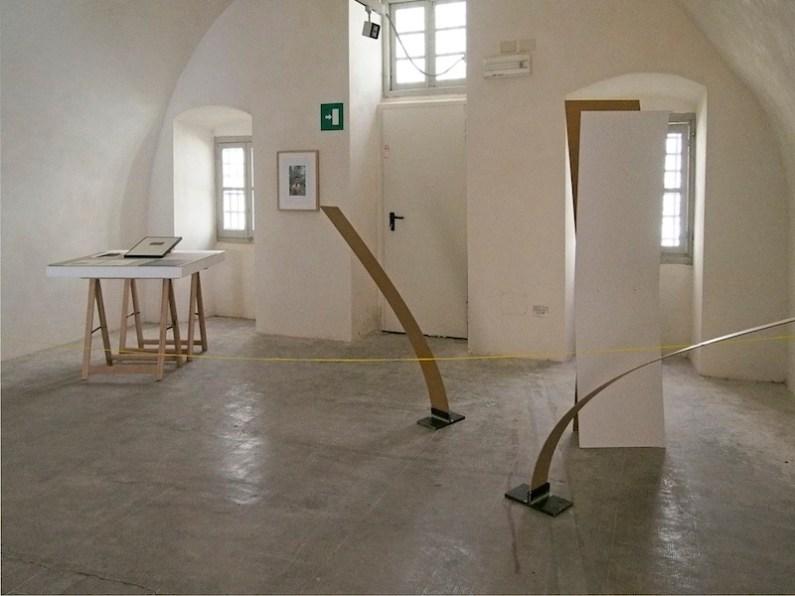 In principio è la Terra, veduta della mostra (Luca Piovaccari), Forte di Gavi (AL), Gavi Foto di Andrea Repetto