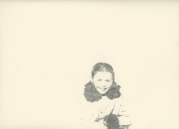 Valentina D'Accardi, Edda, matita su carta, cm 35x24