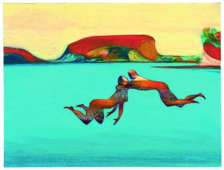 Nell'acqua, 2001, © Lorenzo Mattotti