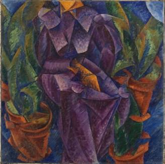 Umberto Boccioni, Costruzione spiralica, 1913, Milano, Museo del Novecento