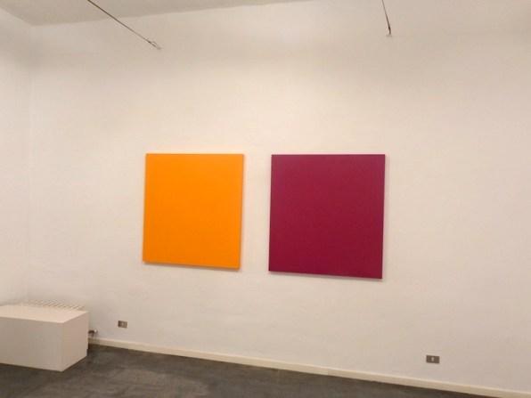 Pittura di colore. Renate Balda, Sonia Costantini, Inge Dick, veduta della mostra (Sonia Costantini), Galleria il Milione, Milano