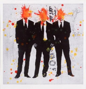 Nicola Villa, Headlessness, 2009, acquatinta su rame, 40x40 cm Editore Galleria Bellinzona, Lecco