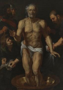 Pietro Paolo Rubens, Seneca morente, 1612-1615, olio su tela, 182x121 cm, Madrid, Museo del Prado