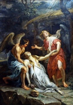 Pietro Paolo Rubens, Maddalena in estasi, 1619, olio su tela, 295x220 cm, Lille, Palais des Beaux-Arts