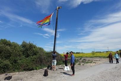 Gian Maria Tosatti, Histoire et destin – New Men's Land (Rainbow road)