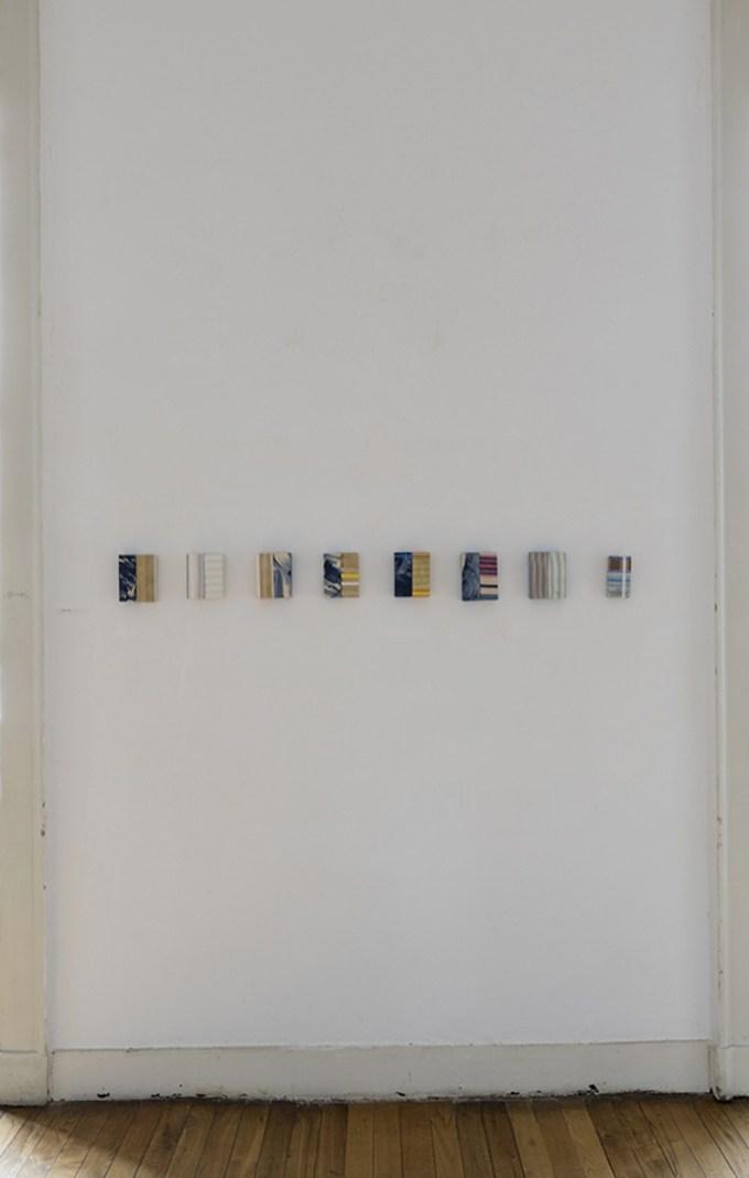 Albano Morandi. Immagini rubate a memoria, veduta della mostra (Otto), Galleria Milano, Milano