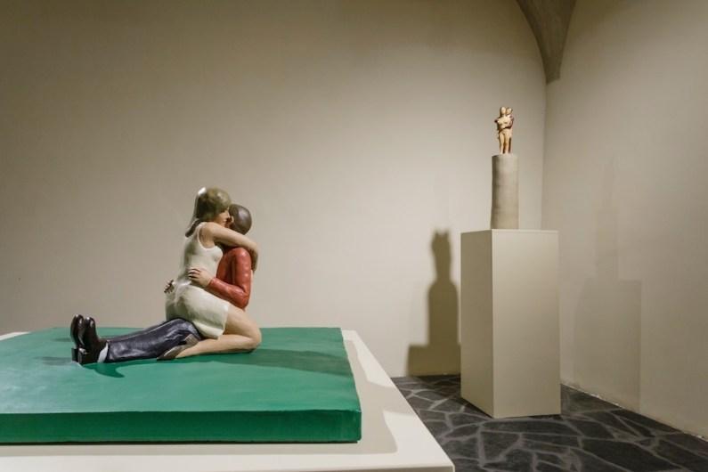 Nando Crippa. Silent Movie, veduta della mostra, Museo Valtellinese di Storia e Arte, Palazzo Sassi De Lavizzari, Sondrio Foto © Stefano Pensotti