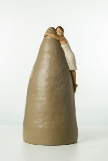 Nando Crippa, Isabella, 2009, terracotta dipinta, 56.5x26.5x27.5 cm Collezione privata Foto © Stefano Pensotti