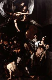 Caravaggio, Le sette opere della Misericordia, Napoli, Pio Monte della Misericordia, 1607, Archivio Pio Monte della Misericordia. Foto: Luciano Pedicini