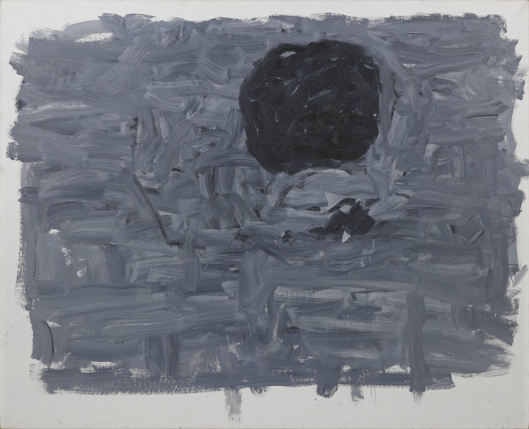 Philip Guston, Position I, 1965, oil on canvas, 65x80 in., Private Collection © The Estate of Philip Guston Courtesy Hauser & Wirth