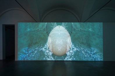 Sarah Ciracì, Like An Ocean With Its Waves..., 2017, video installazione. Foto Roberto Marossi