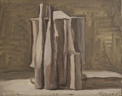 Giorgio Morandi, Natura morta, 1947, olio su tela, 28x35 cm Collezione privata