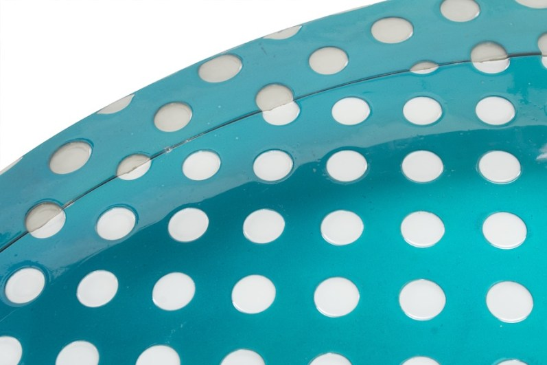 Matteo Negri, Kamigami Aqua Bubble, 2017, tecnica mista su legno, acciaio cromato e verniciato, 160x160x17 cm (dettaglio) Courtesy Lorenzelli Arte, Milano