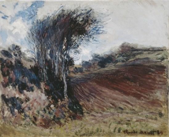 Claude Monet, Les fonds d'Etretat *, 1884, olio su tela, 64.3x81 cm, Museo d'arte della Svizzera italiana, Lugano. Collezione Città di Lugano. Donazione Milich-Fassbind