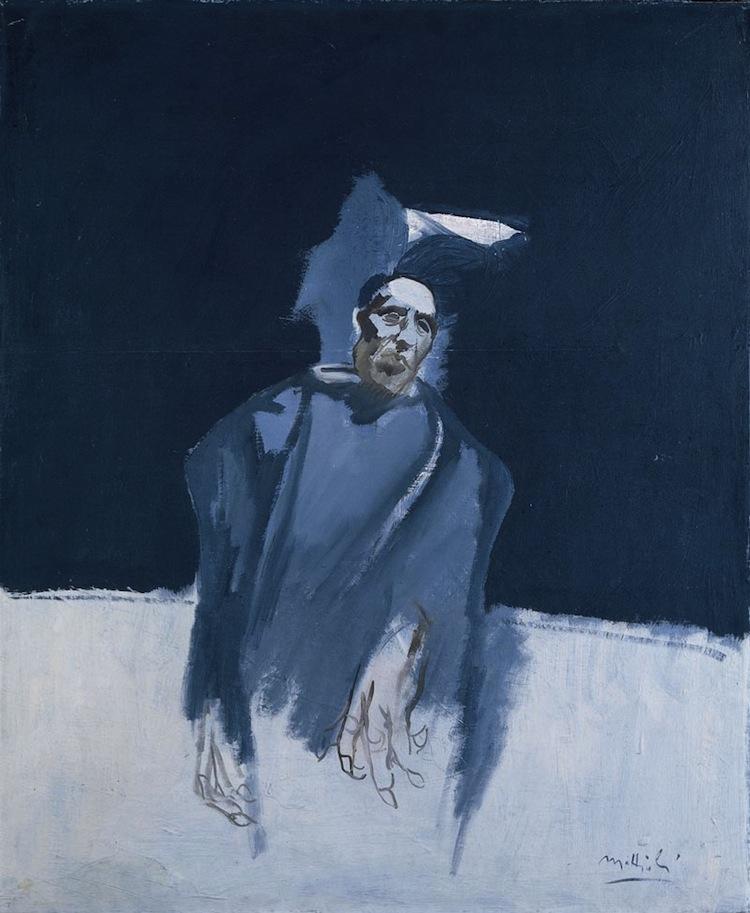 Carlo Mattioli, Ritratto di Ottone Rosai, 1969 olio su tela, 92x75 cm, Collezione privata Crediti Archivio Mattioli