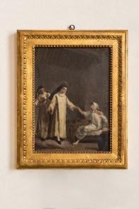 Francisco Goya, Una santa monaca guarisce una giovane inferma