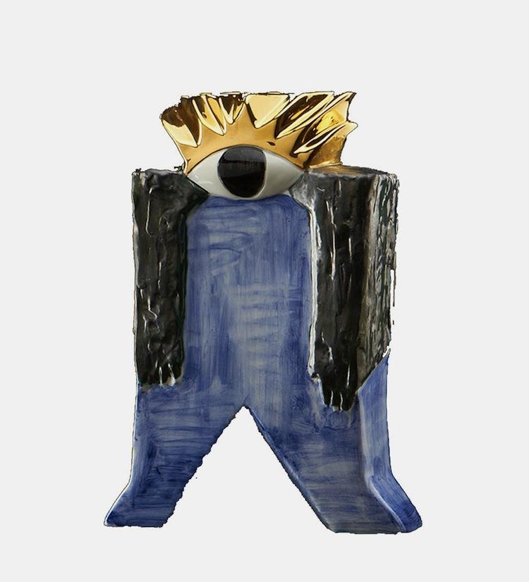 """Vaso """"Polifemo"""", designer Riccardo Dalisi"""