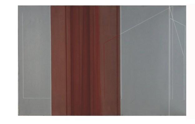 Luc Peire, San Leone, 1963, olio su tela, 60x92 cm Courtesy Lorenzelli Arte, Milano