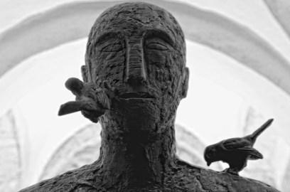 Mimmo Paladino. Ouverture, veduta dell'installazione, Museo di Santa Giulia BRIXIA Parco Archeologico di Brescia Romana, Brescia Foto © Salvetti Francesco