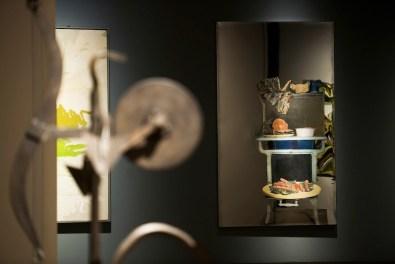 New York New York. Arte italiana. La riscoperta dell'America, veduta della mostra, Gallerie d'Italia, Milano Foto di Maurizio Tosto