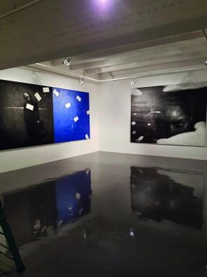 Veduta della mostra OMAR GALLIANI/BRUNO WALPOTH. Suggestioni tra arte mediterranea e arte nordica, Centro Arte Contemporanea Cavalese