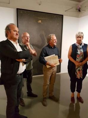 Inaugurazione della mostra OMAR GALLIANI/BRUNO WALPOTH. Suggestioni tra arte mediterranea e arte nordica, Centro Arte Contemporanea Cavalese