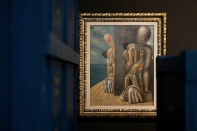 New York New York. Arte italiana. La riscoperta dell'America, veduta della mostra, Museo del Novecento, Milano Foto di Maurizio Tosto