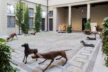 Giancarlo Vitali. Time Out, veduta dell'allestimento (Velasco Vitali), Casa del Manzoni, Milano