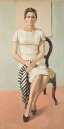 Giancarlo Vitali, Germana, 1959, olio su tela, 160x80 cm