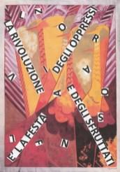 """Nanni Balestrini, Natal'ja Gončarova, Il pavone, 1912, """"La rivoluzione è la festa degli oppressi e degli sfruttati"""" Lenin"""
