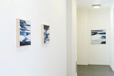 Adua Martina Rosarno. Attrazioni, veduta della mostra, Banca Sistema, Milano
