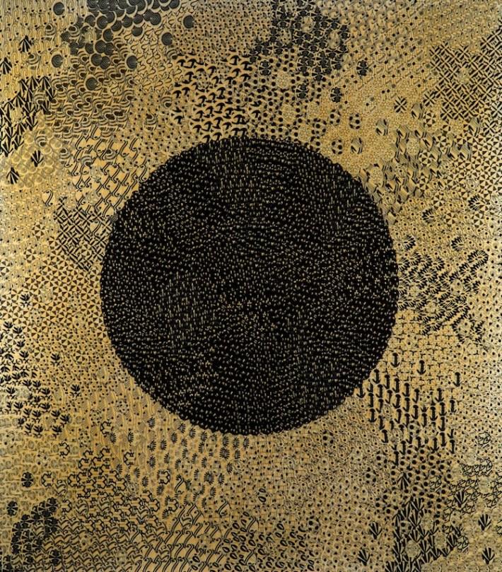Oksana Mas, 1 – 15, 2016, tecnica mista, 220x195 cm