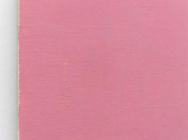 Phil Sims, Pink Endless Painting, 2015, olio su tela, 91.5x71 cm (dettaglio)