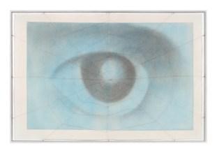 José Barrias, Senza Titolo, 2017, tecnica mista su carta, 80x120 cm Foto di Sara Rizzo
