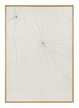 José Barrias, Vestigia, 2000, senza tecnica, 100x70 cm Foto di Sara Rizzo