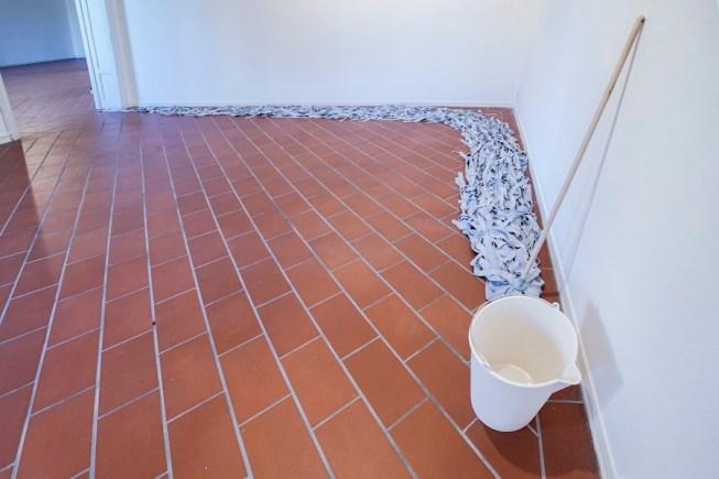"""Ornaghi&Prestinari. Stille, veduta della mostra (""""Prima di tornare fiume""""), Villa Pacchiani Centro Espositivo, Santa Croce sull'Arno (PI) Foto OKNOstudio"""