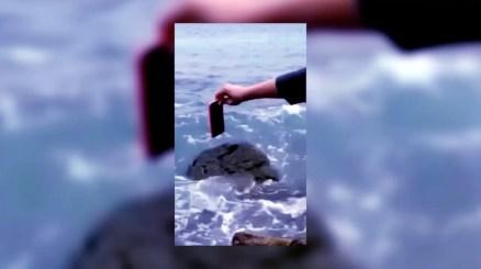 Alvaro Chior, Sensory Warp, 2017, video frame.2 Courtesy of Alvaro Chior.