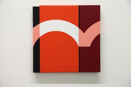 Giuliano Barbanti, Arco 876, 2005, acrilico su tela, 35x35 cm Courtesy Lorenzelli Arte, Milano