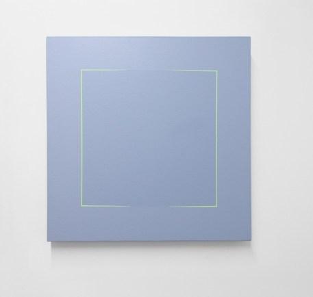 Mauro Cappelletti, Senza titolo, 1979, acrilico su tela, 60x60 cm Courtesy Castel Negrino Arte, Aicurzio (MB)