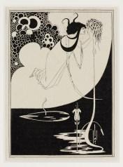 Aubrey Beardsley,The Climax, 1907 Stampa su carta © Victoria and Albert Museum