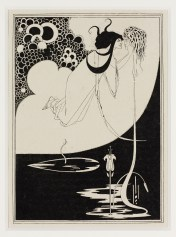 Aubrey Beardsley,The Climax, 1907 Stampa su carta © Victoria and Albert Museum