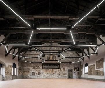 Sala delle Capriate, Palazzo della Ragione, Città Alta, Bergamo