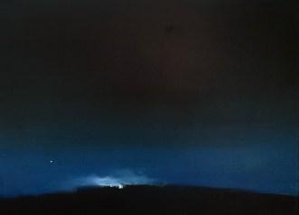 GASTALDO LUCA, Compagnia, 2018, olio e bitume su tela, 30x40 cm