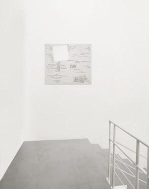 Carlo Ciussi. La pittura come fisicità del pensiero, veduta parziale dell'esposizione, A arte Invernizzi, Milano © A arte Invernizzi, Milano Foto Bruno Bani, Milano