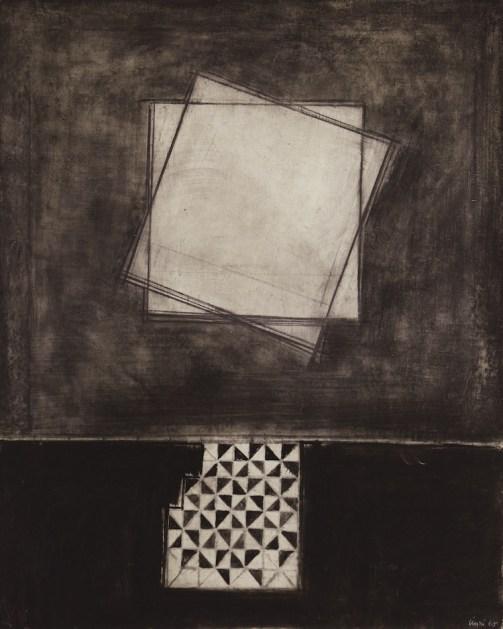 Carlo Ciussi, XXX, 1965, olio e tecnica mista su tela, 100x80 cm © A arte Invernizzi, Milano Foto Bruno Bani, Milano