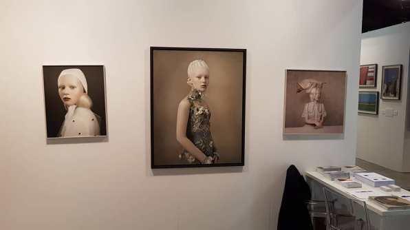 Veduta dello stand di Mc2 Gallery, Milano, MIA Photo Fair 2018